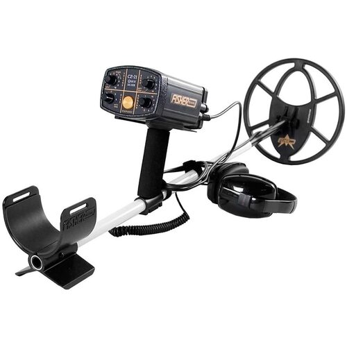 "Fisher CZ21 Metal Detector - 10"" Coil"