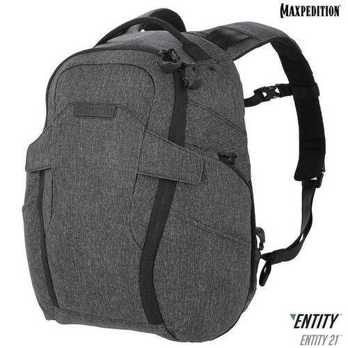 Maxpedition Entity 21 CCW-Enabled EDC Backpack 21L (Charcoal)