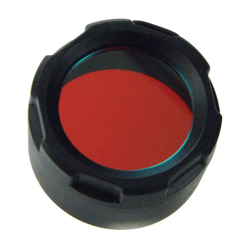 PowerTac Red Filter Cover (Warrior, Hero, Reloaded)
