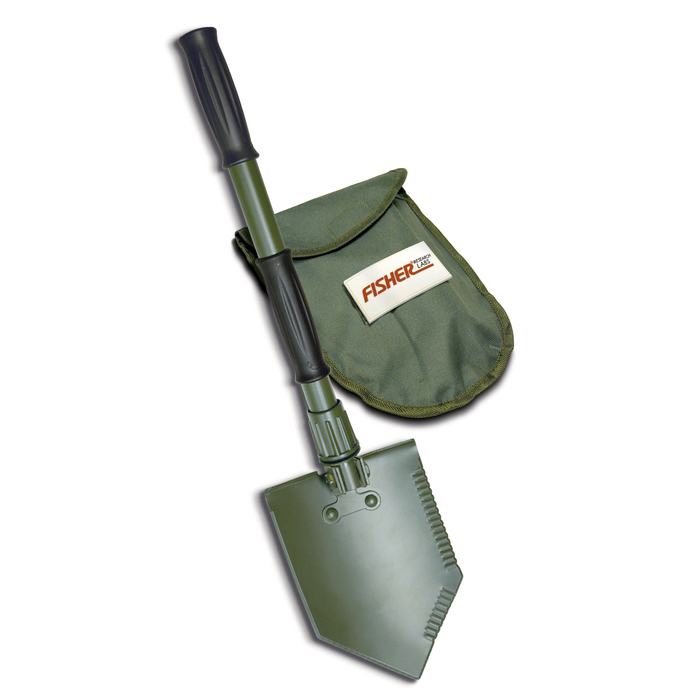 Fisher Folding Shovel with Pouch